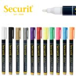 Securit 1mm Wet Wipe Sma-100 Chalk Markers